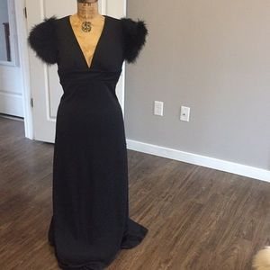Simply GLAMOUR classic black vintage dress